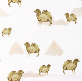 Snoozy fabrics Poplin Camelia