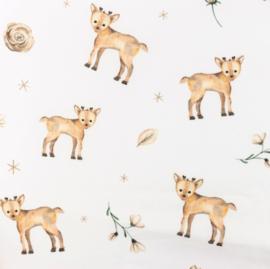 Snoozy fabrics Poplin digital Rendiertjes