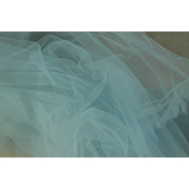 Bruids tule Ice blue