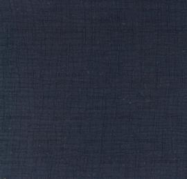 Snoozy fabrics Bamboe Hydrofiel marine