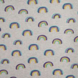 Katoen Tricot Rainbow melange
