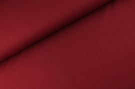 Katoen tricot Wijnrood