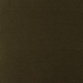 Snoozy fabrics Rib jersey army