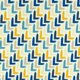 COUPON Tricot Printed corner jeans