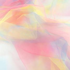 Tule Regenboog color 5