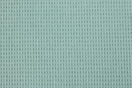 Wafelkatoen MINI IJsblauw