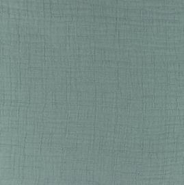 Snoozy fabrics Bamboe Hydrofiel staalblauw