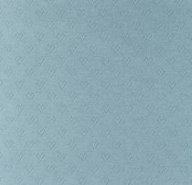 Katoen Fijn gebreid Ajour Hartjes ijsblauw
