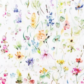 Snoozy fabrics Poplin Wildflowers