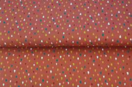 Stenzo Katoen Tricot Colour raindrops