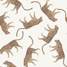 Tricot Digitaal bedrukt Luipaard