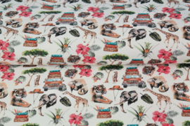 Stenzo tricot printed Jeepsafari