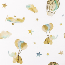Snoozy fabrics Poplin Mix Starr