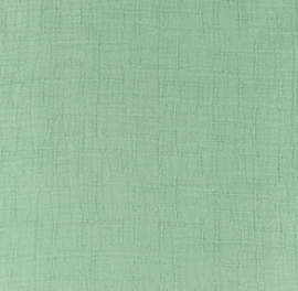Snoozy fabrics Bamboe Hydrofiel oudgroen
