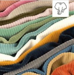 Snoozy fabrics Tricot rib GROF