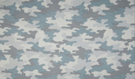 Qjutie french terry print camouflage