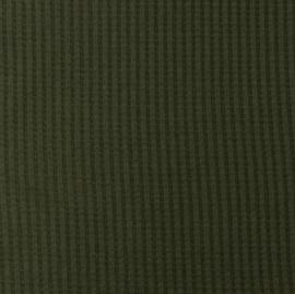 Snoozy fabrics Wafel jersey Army