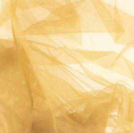 Soepele tule/ mesh  Licht camel