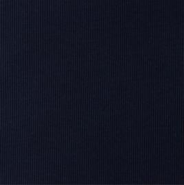 Snoozy fabrics Rib jersey Navy