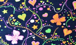 Tricot Neon Butterfly