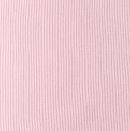 Snoozy fabrics Rib jersey Licht oudroze