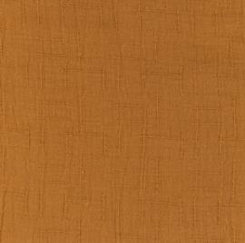 Snoozy fabrics Bamboe Hydrofiel cognac