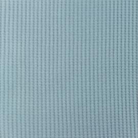 Snoozy fabrics Wafel jersey Babyblauw