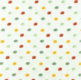Poplin Printed Sketch dot