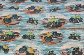 Stenzo tricot digital print Monstertruck