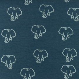 Snoozy Tricot Olifant silhouette