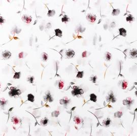 Snoozy fabrics Poplin Veldbloemetjes