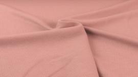 Gebreide katoen FIJN Oud roze