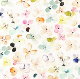 Snoozy fabrics Hydrofiel Clover