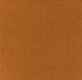Snoozy fabrics Bamboe Hydrofiel roest
