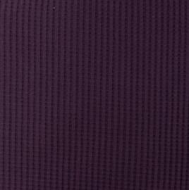 Snoozy fabrics Wafel jersey Paars