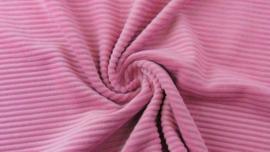 Tricot rib GROF pink