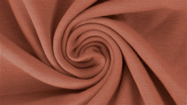 Katoen tricot Oudroze