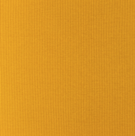 Snoozy fabrics Rib jersey Oker