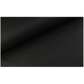 Lakenkatoen Zwart