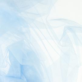 Soepele tule/ mesh Babyblauw