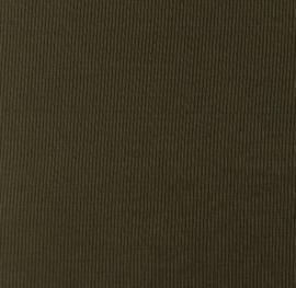 Snoozy fabrics Rib jersey legergroen