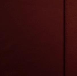 Brushed tricot Bordeaux
