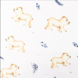 Snoozy fabrics Poplin digital IJsbeertje