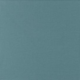 Snoozy fabrics Rib jersey Oudblauw
