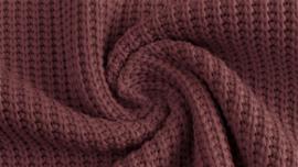 Gebreid katoen GROF Lavendel