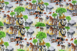 Stenzo poplin Jungle print