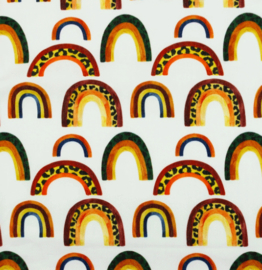 Poplin Panther Rainbow