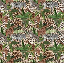 Stenzo poplin Jungleprint
