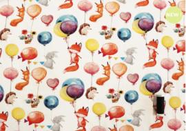 Tricot Bosdieren en ballonnen