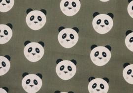 Katoen Panda khaki